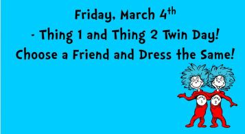 Friday Dr Seuss